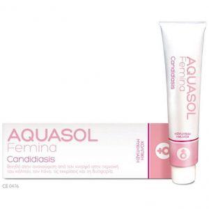 Minerva Pharmaceuticals Aquasol Femina Candidiasis Cream Gel, 30ml
