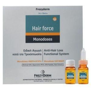 Frezyderm Hair Force Monodose Day/Night, 14x10ml