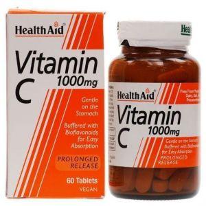 Health Aid Vitamin C 1000mg Prolonged Release, 60tabs