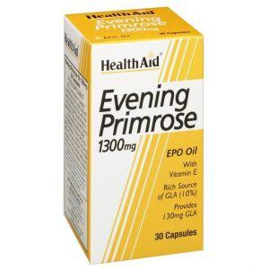 Health Aid EVENING PRIMROSE 1300mg, 30 κάψουλες
