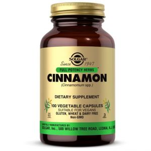 Solgar Cinnamon 500mg, 100caps