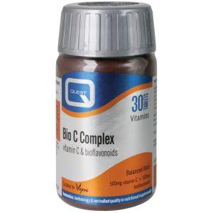 Quest Bio C Complex bioflavonoids 500mg, 30tabs
