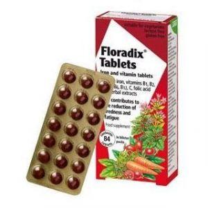 Power Health Floradix Tablets 84 ταμπλέτες