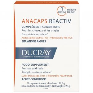 Ducray Anacaps Reactiv, 30caps