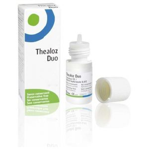 Thea Thealoz Duo Οφθαλμικές Σταγόνες Υποκατάστατο Δακρύων με Υαλουρονικό Οξύ, 10ml