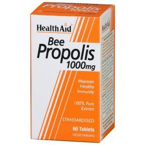 Health Aid Bee Propolis1000mg, 60tabs