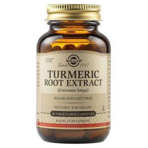 Solgar Turmeric Root Extract, 60caps