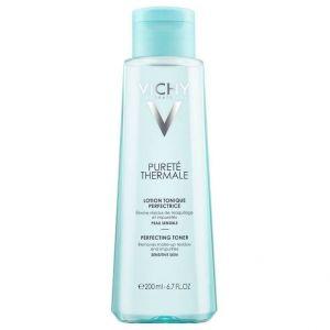 Vichy Purete Thermale Perfecting Toner Τονωτική & Ενυδατική Λοσιόν Καθαρισμού για Ευαίσθητο Δέρμα, 200ml