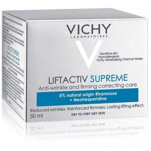 Vichy LIFTACTIV Supreme Αντιρυτιδική & Συσφικτική Κρέμα Προσώπου, για Ξηρή / Πολύ Ξηρή & Ευαίσθητη Επιδερμίδα, 50ml