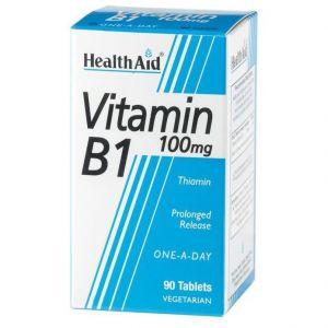 Health Aid VITAMIN B1 Thiamin One a Day, 90 ταμπλέτες