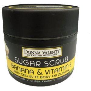 Donna Valente Banana Miracle Body Sugar Exfoliator, 250gr
