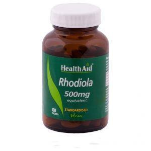 Health Aid Rhodiola 500mg, 60 tabs