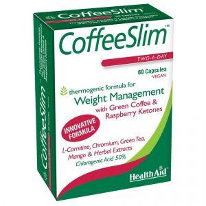 Health Aid Coffee Slim Πράσινος Καφές, 60caps