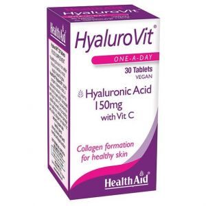 Health Aid HyaluroVIT 150mg, 30 tabs