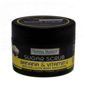 Donna Valente Banana Miracle Body Sugar Exfoliator, 600gr