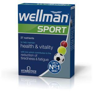 Vitabiotics Wellman Sport, 30Tabs
