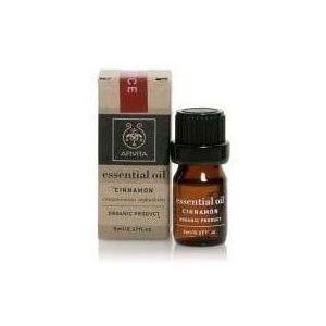 Apivita Essential Oil Cinnamon, 5ml