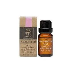 Apivita 5% Essential Oil Rose in Jojoba Oil, 10ml