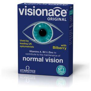 Vitabiotics Visionace, Συμπλήρωμα Διατροφής για τη Διατήρηση της Καλής Όρασης, 30tabs