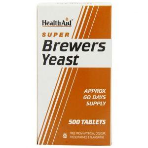 Health Aid Brewers Yeast, Μαγιά Μπύρας 500Tabs