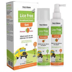 Frezyderm Lice Free Set, 125ml