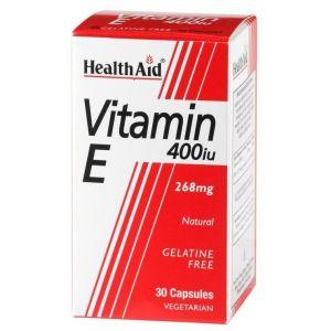 Health Aid VITAMIN E 400 i.u (268mg), 30 κάψουλες