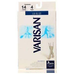 Varisan Lui & Lei Nero Κάλτσες Διαβαθμισμένης Συμπίεσης Κάτω Γόνατος 14 mmHg 862 No 3 (41-43), 1ζεύγος