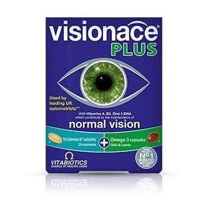 Vitabiotics Visionace Plus Omega 3, 28Tabs/28Caps