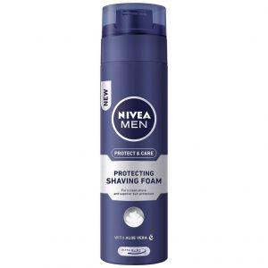 Nivea For Men Extra Moisture Αφρός Ξυρίσματος, 200ml