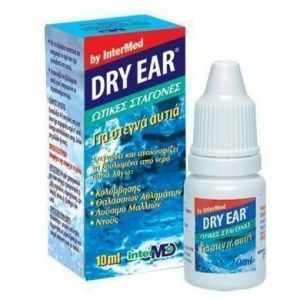 Intermed Dry Ear Drops, Ωτικές Σταγόνες 10ml