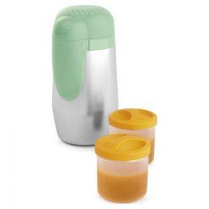 Chicco Inox Thermal Food Holder & Bottle, 1τμχ
