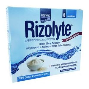 Intermed Rizolyte Rice Flour & Electrolytes, 6τμχ