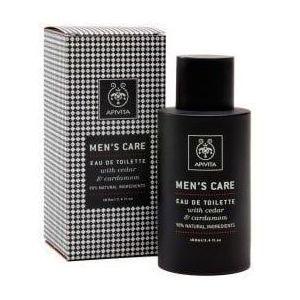 Apivita Men's Care Cedar & Cardamon Eau de Toilette, 100ml