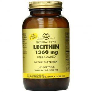 Solgar Lecithin 1360mg, 100caps