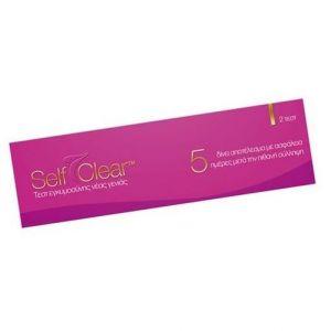 Self Clear Διπλό Τεστ Εγκυμοσύνης, 2 τμχ