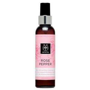 Apivita Rose Pepper Massage Oil, 150ml