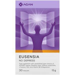 Agan Eusensia No Depress Συμπλήρωμα ενάντια στη Θλίψη & τα Αρνητικά Συναισθήματα, 30 vegicaps