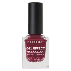 Korres Gel Effect Nail Colour With Sweet Almond Oil No.74, 11ml