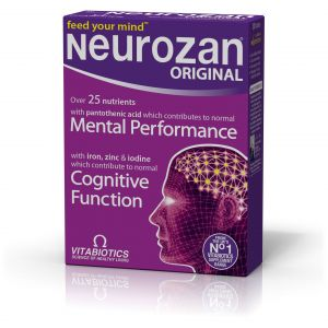 Vitabiotics Neurozan, Σύνθεση Θρεπτικών Συστατικών για την Υγεία του Εγκεφάλου 30caps