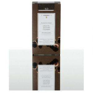 Korres Βαφή ARGAN OIL Advanced Colorant 5.0 Καστανό Ανοικτό, 50ml