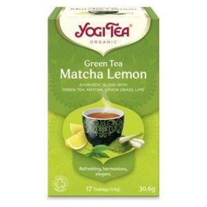 Yogi Tea Matcha Lemon, 17φακελάκια