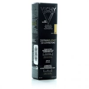 Vichy Dermablend 3D Διόρθωση 16ωρών Make up, Επιδερμίδα με Τάση Ακμής, Νο35 SAND, 30ml