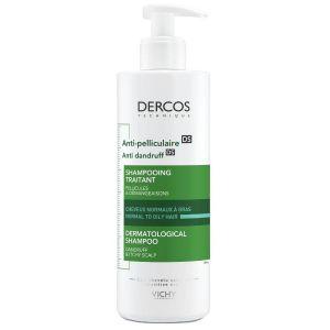 Vichy Dercos Anti-Dandruff Αντιπυτιριδικό Σαμπουάν για Κανονικά - Λιπαρά Μαλλιά, 390ml