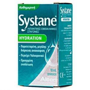 Alcon Systane Hydration Λιπαντικές Οφθαλμικές Σταγόνες 10ml