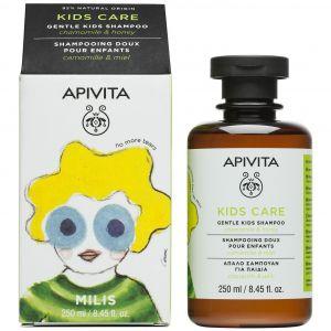 Apivita Kids Shampoo With Chamomile & Honey, 250ml