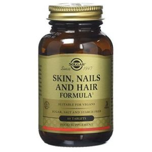 Solgar Skin, Nails & Hair, 60tabs