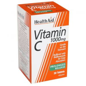 Health Aid Vitamin C Prolonged Release 1000mg 30Tablets