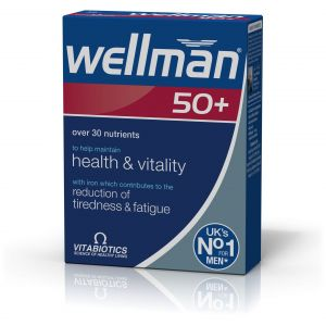 Vitabiotics Wellman 50+, για Άντρες Άνω των 50, 30Tabs