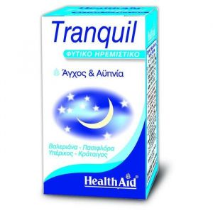 Health Aid Tranquil Natural Calming, 30caps