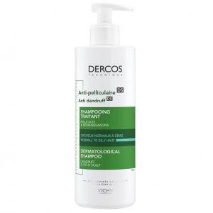 Vichy Dercos Anti-Dandruff Shampoo Greasy Hair Αντιπυτιριδικό Σαμπουάν για Κανονικά & Λιπαρά Μαλλιά, 200ml